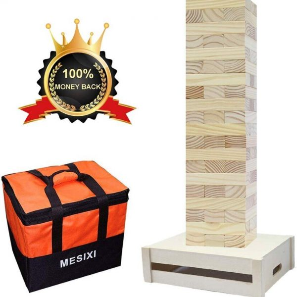 Giant Jenga with Small Table and Case