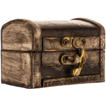 Distressed Brown Ring Trunk (mini)