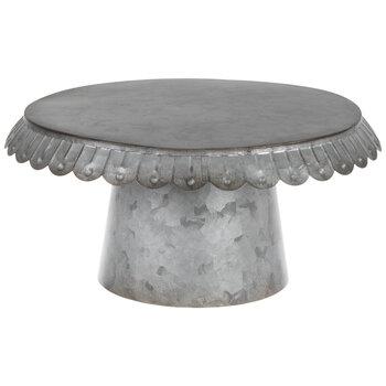 Galvanized Cake Stand